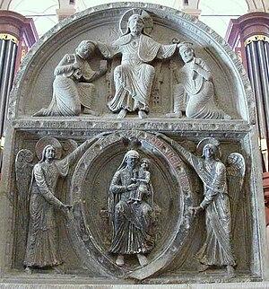 English: Maastricht, Basilica of Saint Servati...