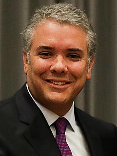 Iván Duque Márquez President of Colombia