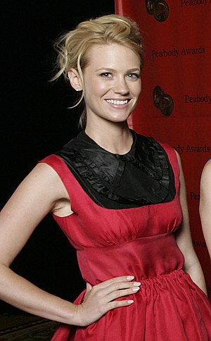 January Jones - Jones at the 2008 Peabody Awards