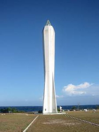 Madang - Coastwatchers Memorial Lighthouse, Kalibobo, Madang