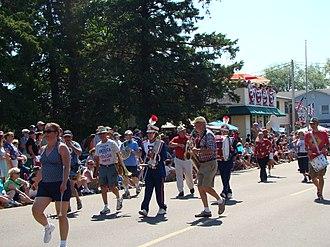 Madeline Island - Fourth of July parade on Madeline Island