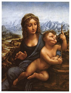 1501 in art - Image: Madonna of the Yarnwinder