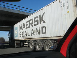Maersk sealand container on truck.JPG