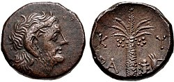 Magas as king of Kyrene, circa 282 or 275 to 261 BC.jpg