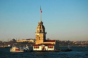 Maiden' s Tower, Istanbul, Turkey
