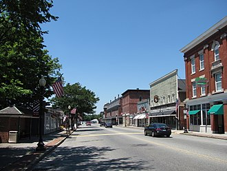Ayer, Massachusetts - Main Street