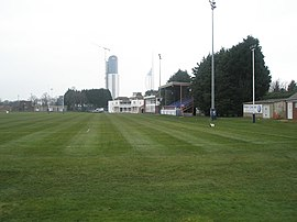 Main stand at US Portsmouth Sports Ground. - geograph.org.uk - 698709.jpg
