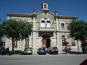 Marsanne, Drôme - Image: Mairie Marsanne 2012 06 26 2 017