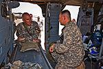 Maj. Gen. Bolger gets overview of 1st Air Cavalry Brigade operations on Camp Taji DVIDS183618.jpg