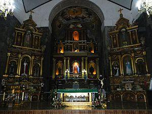 Saint Gregory the Great Parish Church (Majayjay) - The sanctuary of San Gregorio Magno Church