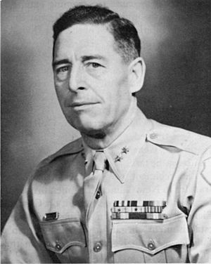Edwin F. Harding - Major General Edwin F. Harding, commander of the 32nd Infantry Division at the beginning of World War II.