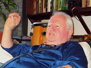 Malachy McCourt - McCourt at home in March 2007