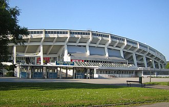 Malmö FF - Malmö Stadion, the home stadium for the club between 1958 and 2008