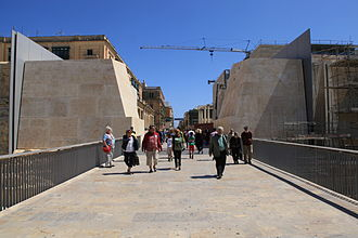 City Gate (Valletta) - View of City Gate