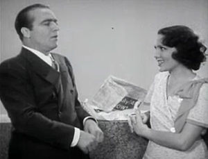James Hall (actor) - James Hall starring opposite Mary Brian in Manhattan Tower (1932)