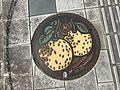 Manhole cover of Yatsushiro, Kumamoto 2.jpg