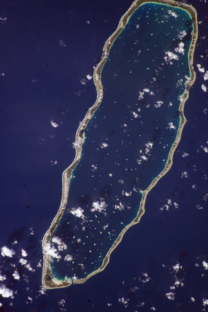Manihi - NASA picture of Manihi Atoll.
