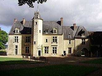 Pierre de Ronsard - Manoir de la Possonnière, Ronsard's home