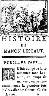 novel by Abbé Prévost