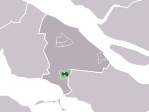 Nieuwe-Tonge - Image: Map NL Middelharnis Nieuwe Tonge