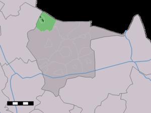 Langeveen - Image: Map NL Tubbergen Langeveen