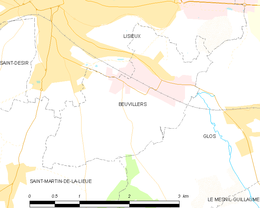 Beuvillers – Mappa