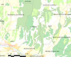 Map commune FR insee code 26098.png