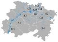 Map of Landkreis Lichtenfels.png