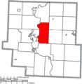 Map of Muskingum County Ohio Highlighting Washington Township.png