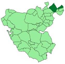 Location of Olvera