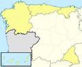 Mapa Segunda B G I con Canarias 2013-14.png