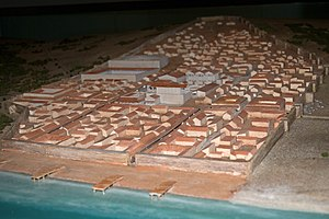 Baelo Claudia - A model of the city