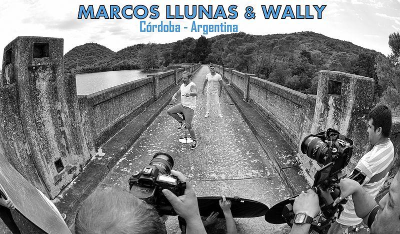 File:Marcos Llunas & Wally.jpg