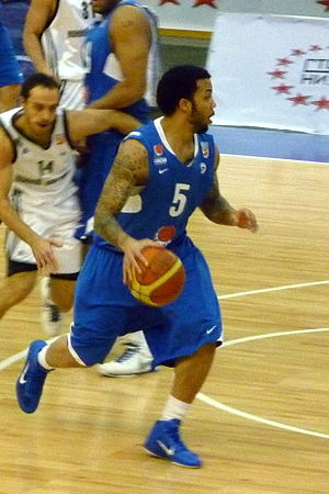 Marcus Williams (basketball, born 1985) - Williams during his tenure with Yenisey Krasnoyarsk in 2010