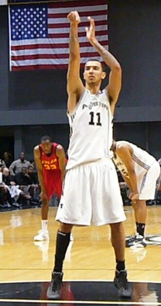 Marcus Williams (basketball, born 1986) - Williams during his third tenure with the Austin Toros