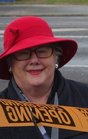 Manawatu District - Margaret Kouvelis in 2015