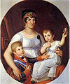 Maria Luisa Queen of Etruria and her two children.jpg