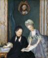 Maria Theresa with her daughter Christina - Hofburg.png
