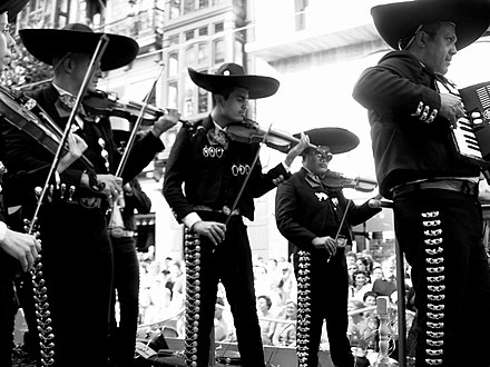 Typical Mariachi of Jalisco. Mariachii.jpg