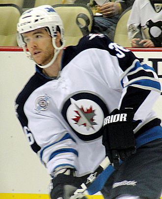 Mark Flood - Flood with the Jets in 2012.