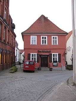 Marktstraße in Werl