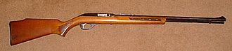 Hunting weapon - Marlin Model 60 .22LR hunting rifle