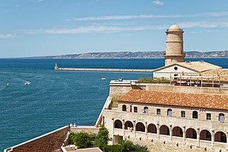 Fort Saint-Jean (Marseille) - Image: Marseille Fort Saint Jean bjs 180810 04