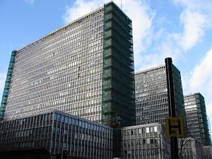 2 Marsham Street - The Marsham Towers which previously occupied the site