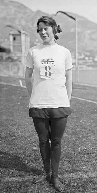1922 Women's World Games -  Mary Lines