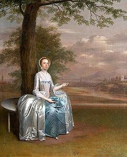Mary Unwin friend of William Cowper