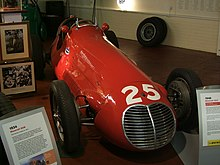 Photo d'une Maserati 4CLT-48.