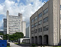 Maths and Social Sciences and Faraday Building at UMIST Campus.jpg