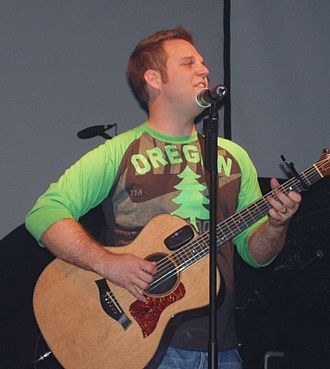 Matthew West - Matthew West playing a concert on the History 101 tour in September 2005