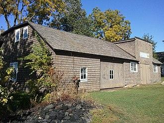 Matthew Edel Blacksmith Shop and House - Blacksmith Shop